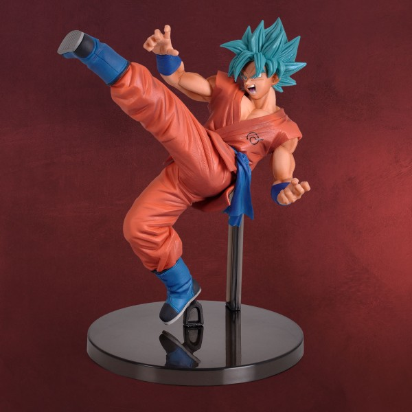 Dragon Ball - Super Saiyajin Gott Super Saiyajin Son Goku Figur 19 cm