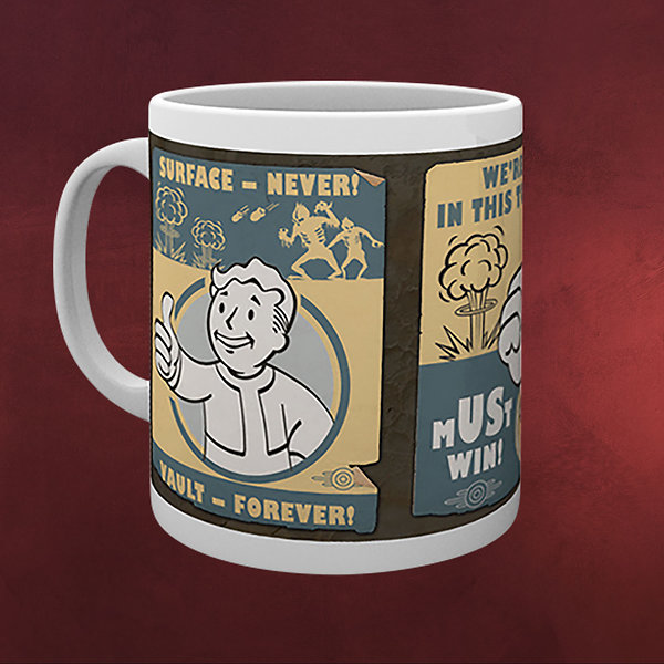 Fallout 4 - Vault Posters Tasse