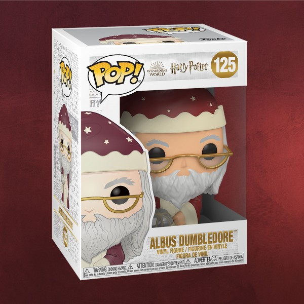 Harry Potter - Dumbledore Holiday Funko Pop Figur