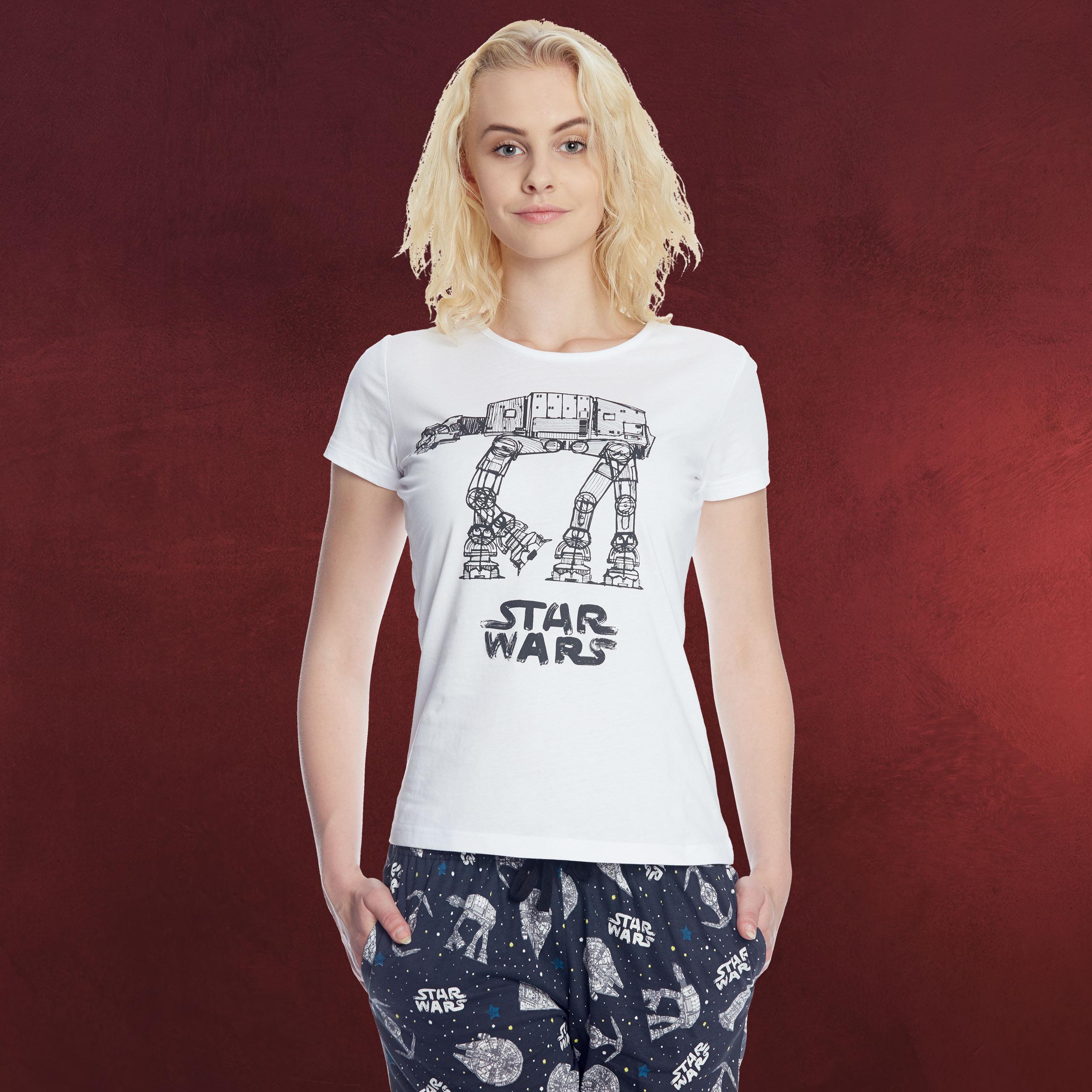 promo code 19741 1b2fb Star Wars - AT-AT Pyjama Damen