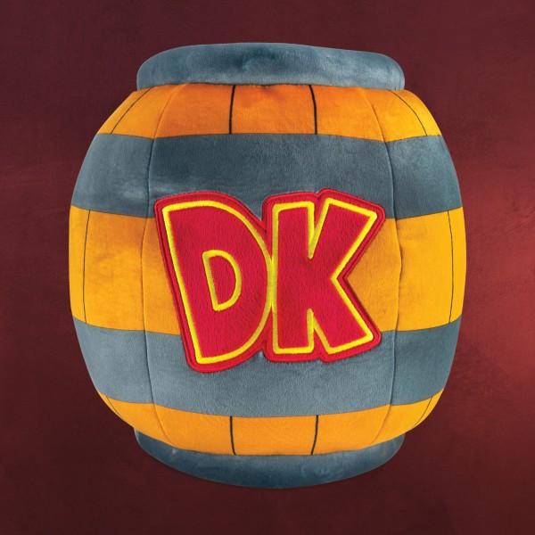 Donkey Kong - DK-Fass Plüsch Figur XL