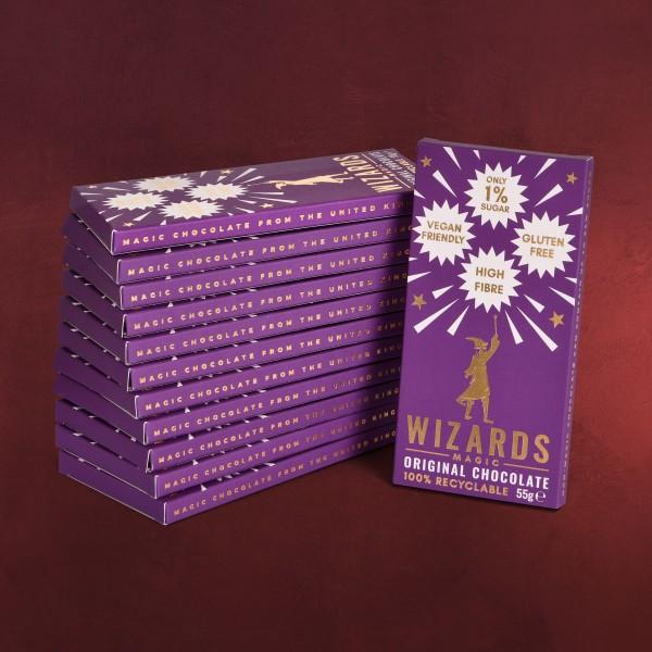 Wizards Magic - Original Schokolade 12 Tafeln