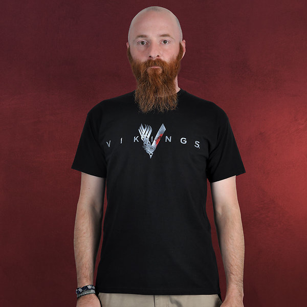 Vikings - Welcome T-Shirt schwarz