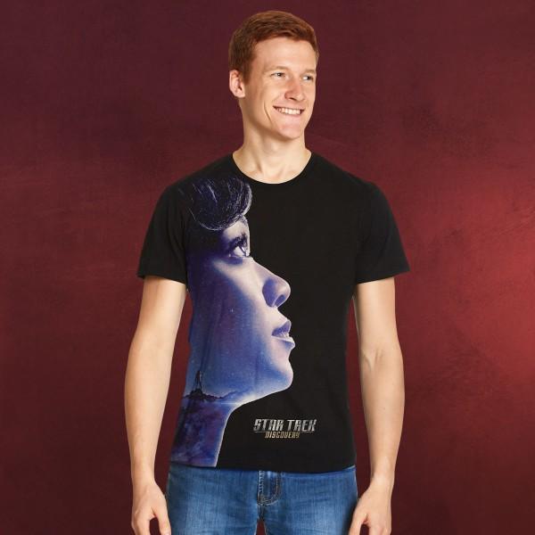 Star Trek - Michael Burnham Discovery T-Shirt schwarz