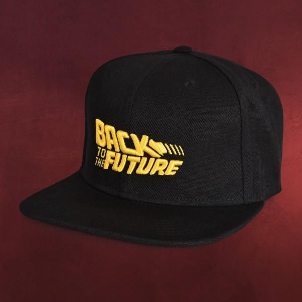 Zurück in die Zukunft - Movie Logo Snapback Cap