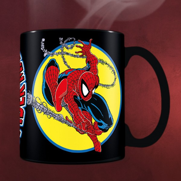 The Amazing Spider-Man Thermoeffekt Tasse