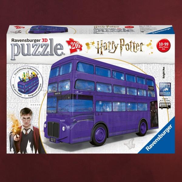 Harry Potter - Fahrender Ritter 3D Puzzle mit Stiftefach