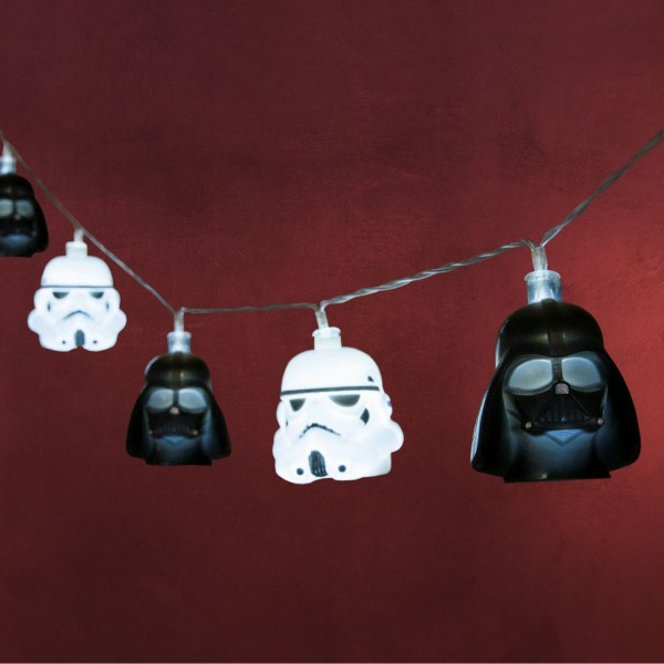 Star Wars - Stormtrooper und Darth Vader Lichterkette