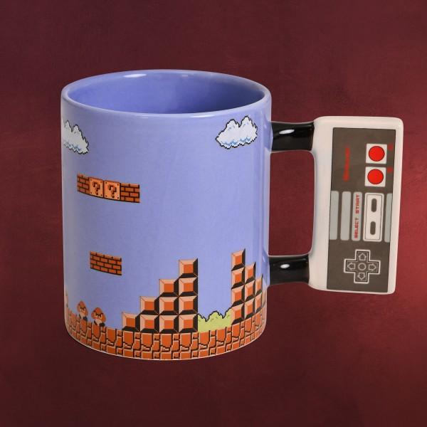 Super Mario - NES Controller Tasse