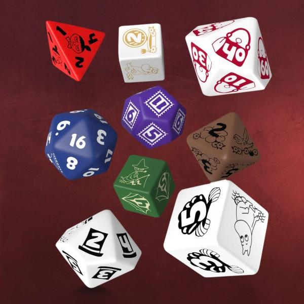 Mumins RPG Würfel Set 9tlg