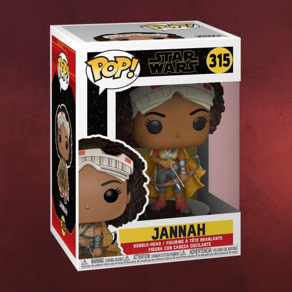 Star Wars - Jannah Funko Pop Wackelkopf-Figur