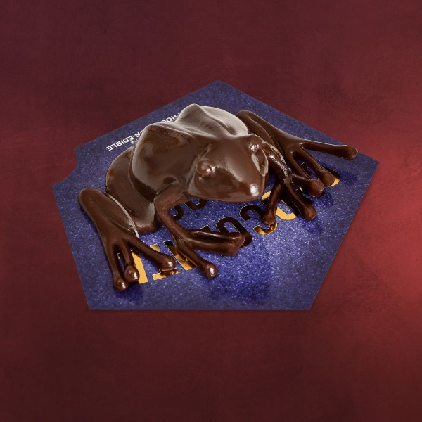 Schokofrosch Figur mit Sammelkarte - Harry Potter