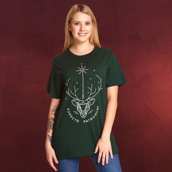 Harry Potter - Expecto Patronum T-Shirt grün