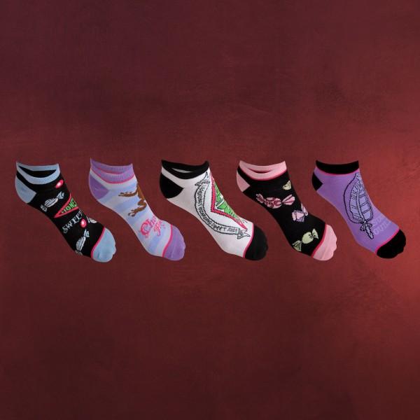 Harry Potter - Honeydukes Sweets Socken 5er Set
