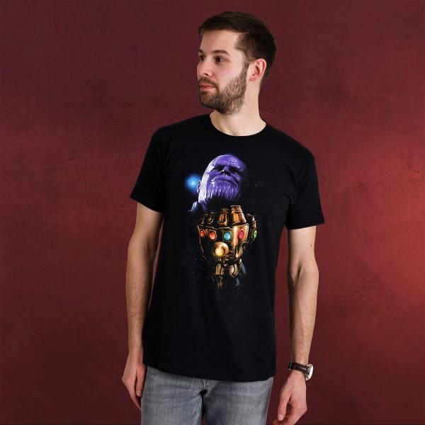 Avengers - Thanos Infinity Gauntlet T-Shirt schwarz