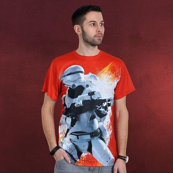 Star Wars - Flametrooper T-Shirt orange