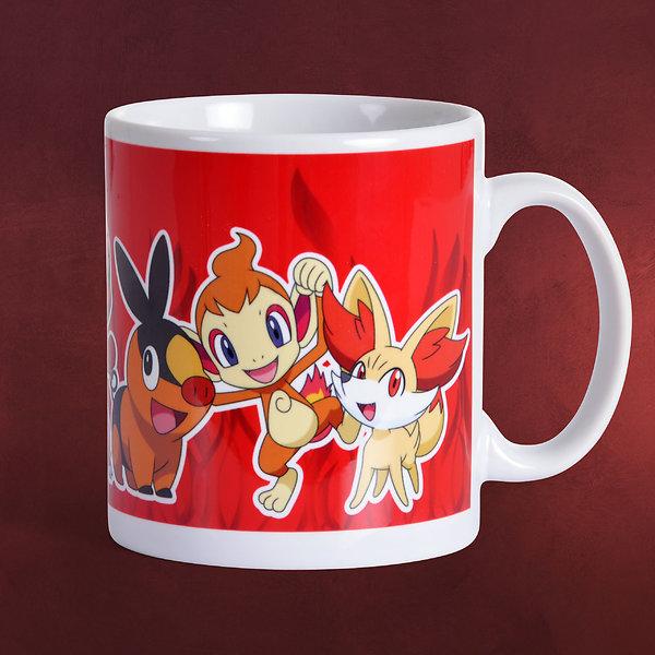 Pokemon - Fire Partners Tasse