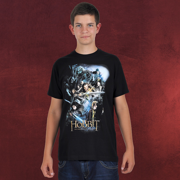 Der Hobbit - Collage T-Shirt