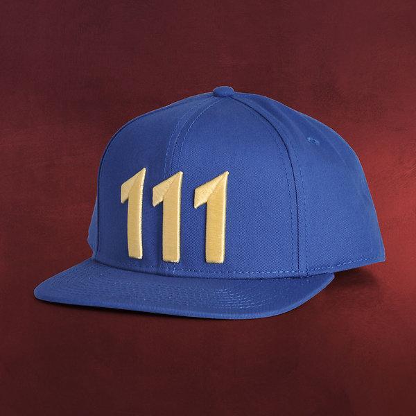 Fallout - Vault 111 Snapback Cap blau