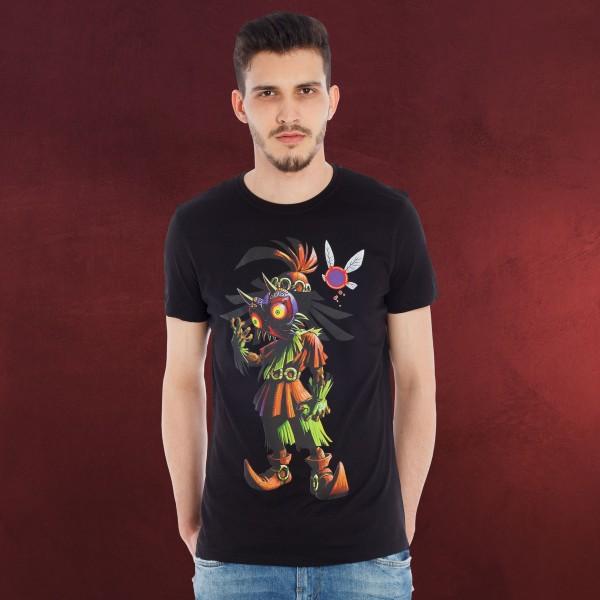 Zelda - Majoras Mask T-Shirt schwarz