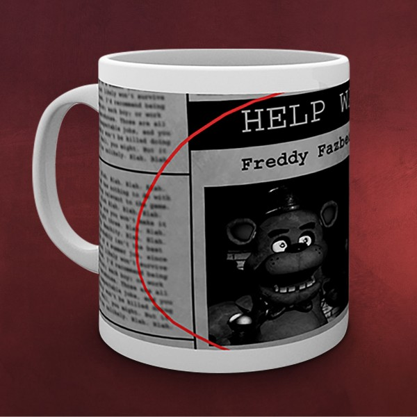 Five Nights at Freddys - Help Wanted Tasse