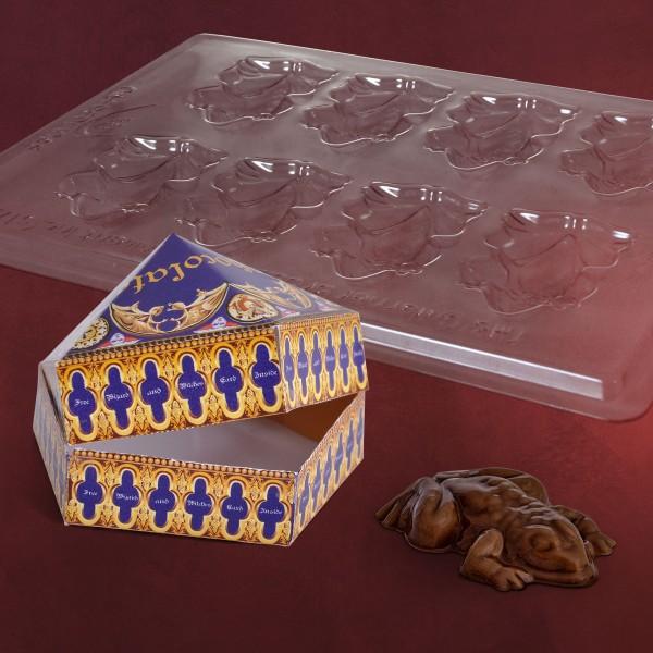 harry potter schokofrosch pralinenform set elbenwald. Black Bedroom Furniture Sets. Home Design Ideas