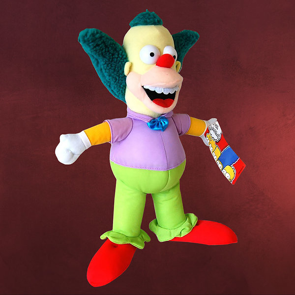 Simpsons - Krusty der Clown Plüschfigur 31 cm
