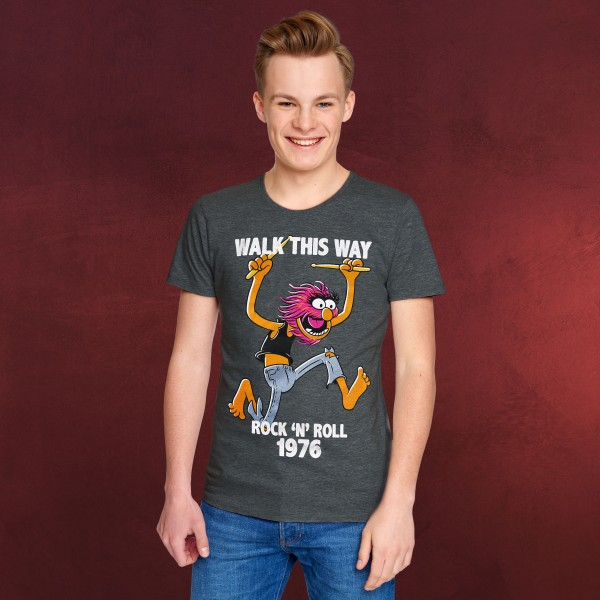 Muppets - Animal Walk This Way T-Shirt grau