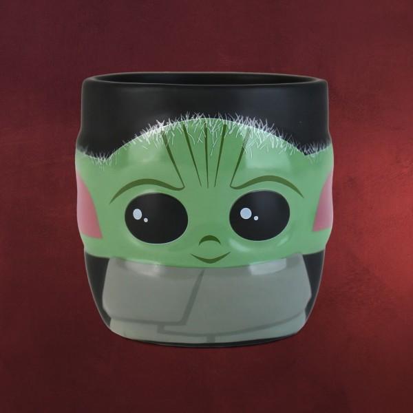 The Child 3D Tasse - Star Wars The Mandalorian schwarz