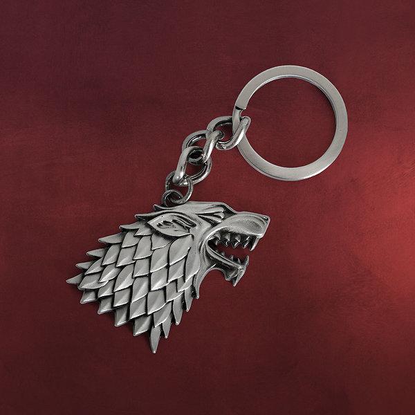 Game of Thrones - Stark Wappen Schattenwolf Schlüsselanhänger
