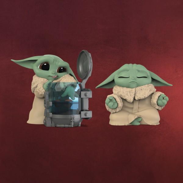 Grogu Curious Child & Meditation Mini-Figuren-Set - Star Wars The Mandalorian