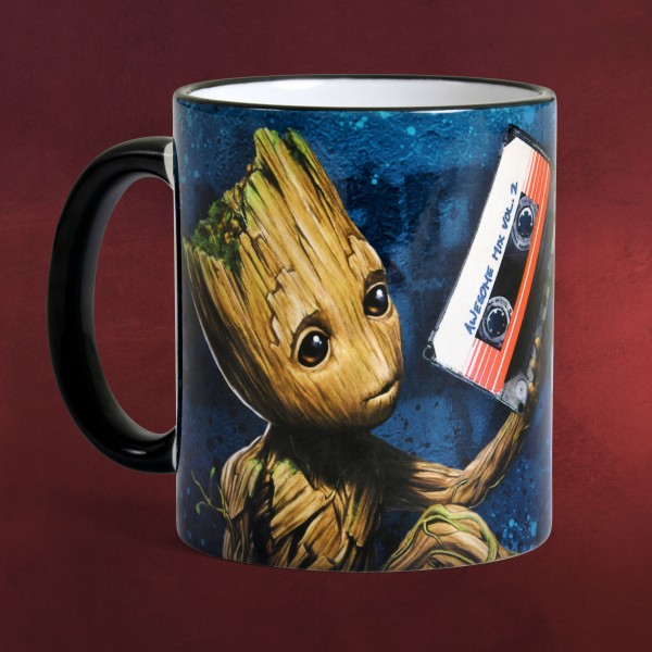 Guardians of the Galaxy - Groot Music Tasse
