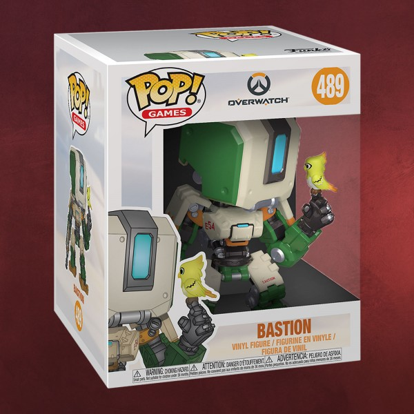 Overwatch - Bastion Funko Pop Figur 14 cm