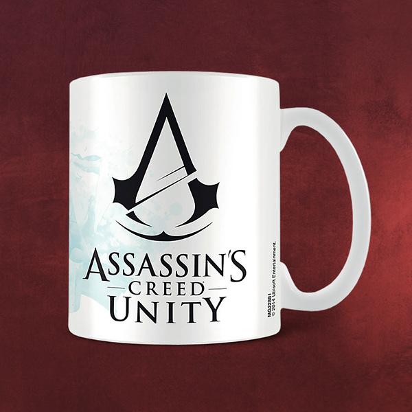 Assassins Creed - Unity Black Logo Tasse