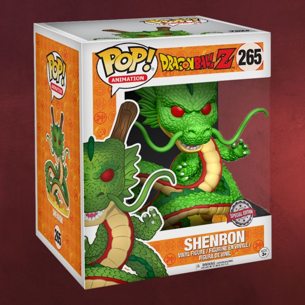 Dragon Ball Z - Shenlong Funko Pop Figur 18 cm