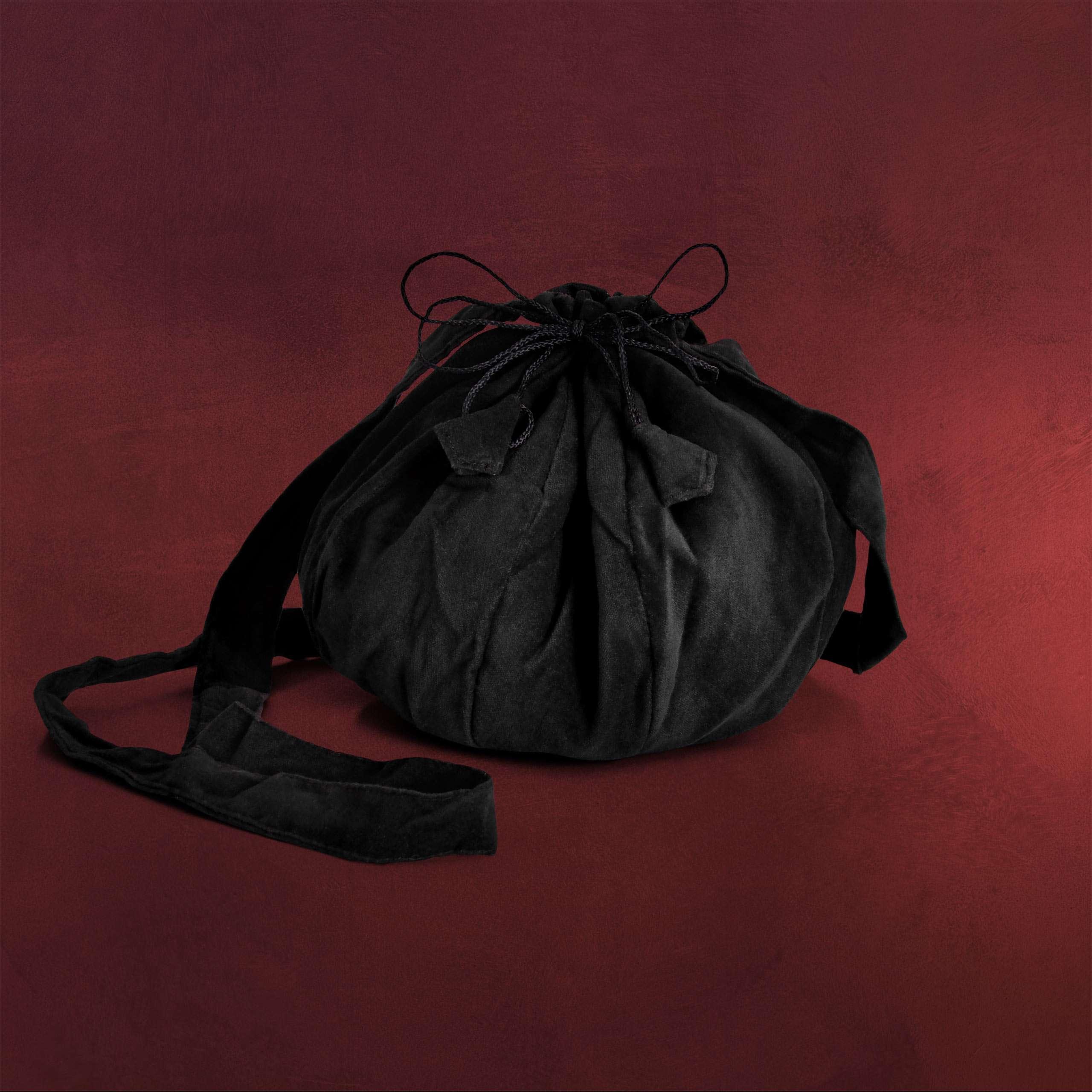 7d7894e61c9e4 Mittelalterliche Umhängetasche schwarz