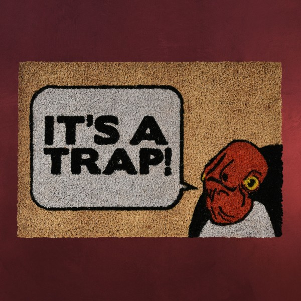 Star Wars - Admiral Ackbar It's a Trap Fußmatte