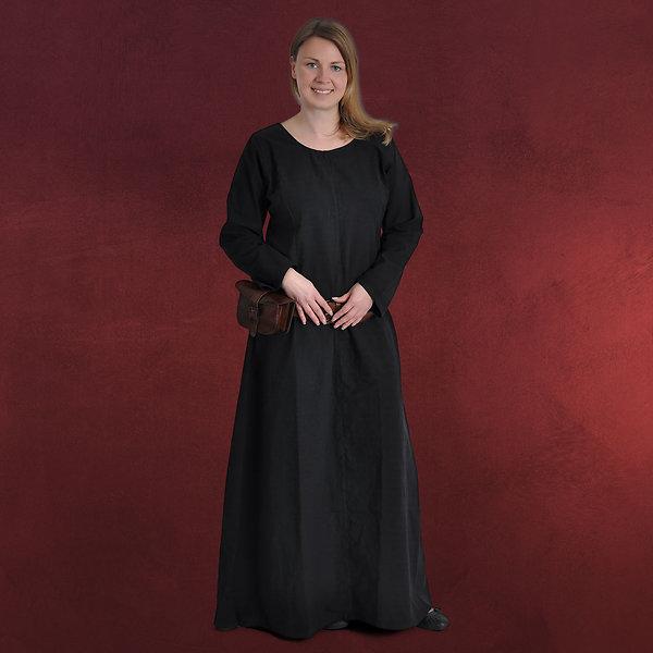 Mittelalter Unterkleid Freya schwarz