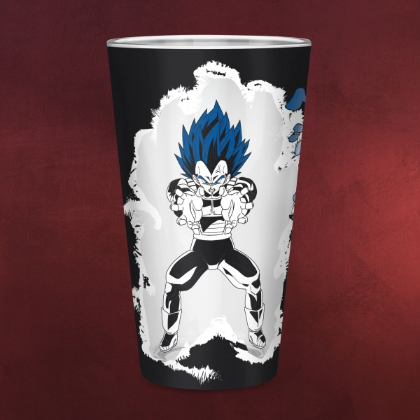 Dragon Ball Super - Goku und Vegeta Glas