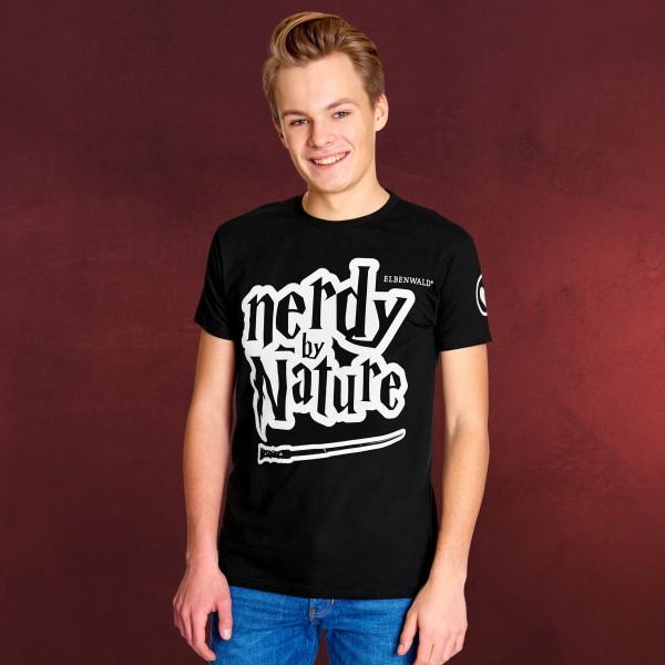 Elbenwald - Nerdy by Nature T-Shirt schwarz