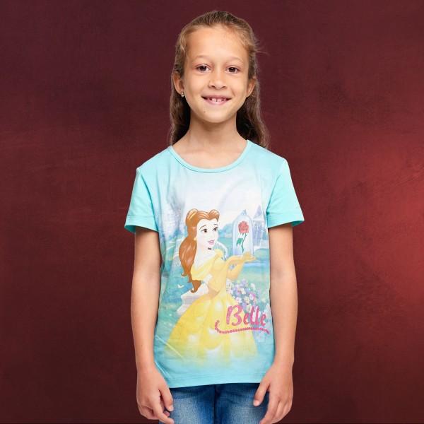 Die Schöne und das Biest - Belle T-Shirt Kinder türkis
