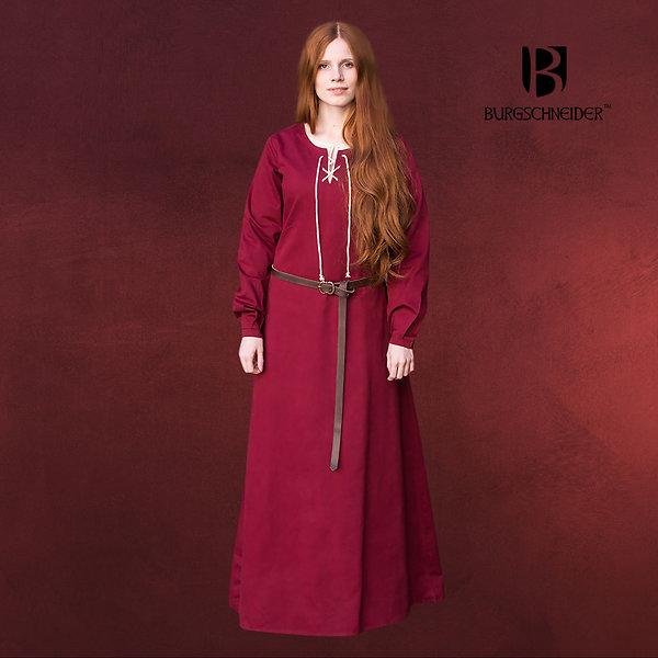 Mittelalter Gewand Cilie rot