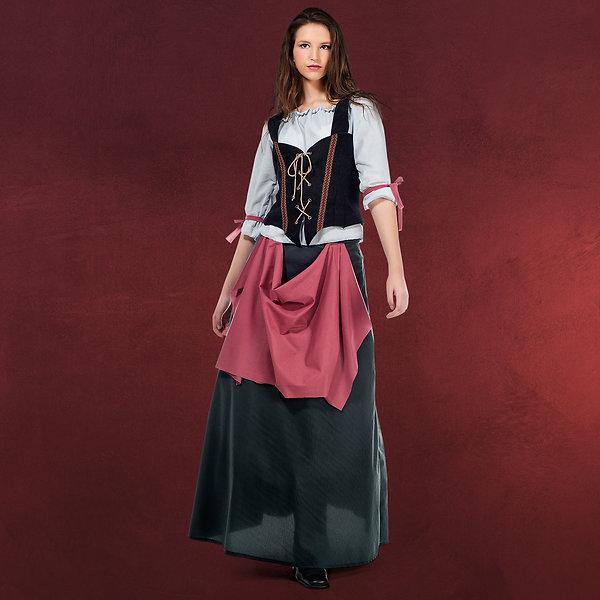 Mittelalter Wirtin - Kostüm Damen