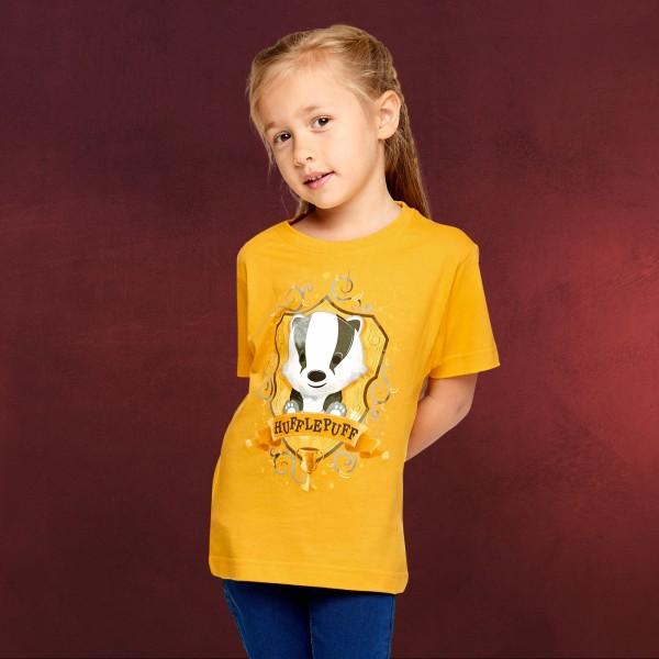 Harry Potter - Magical Hufflepuff T-Shirt Kinder gelb