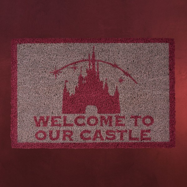 Disney - Welcome to Our Castle Fußmatte